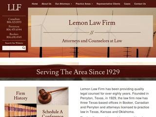 Texas Lemon Law >> Lemon Shearer Phillips Good Lawyer From Booker Texas Rating