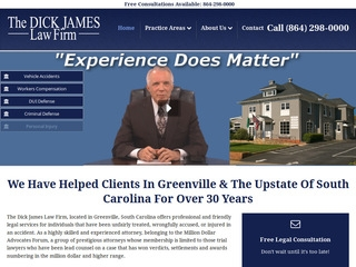 Dick James Jd Lawyer From Greenville South Carolina Rating