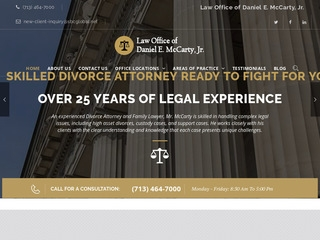 Law Offices of Daniel E McCarty, Jr | Lawyer from Houston, Texas