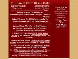 Ali Zulu Attorney At Law | Lawyer from Riverside, California