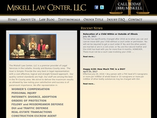 Miskell Law Center | Lawyer from Ottawa, Illinois | Rating & reviews