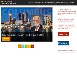 Barnes & Thornburg LLP | Lawyer from Atlanta, Georgia