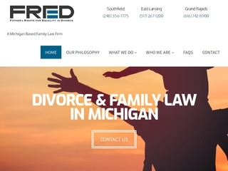 fathers rights for equality in divorce michigan