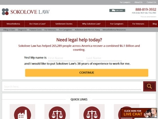 Sokolove Law Firm Lawyer From Las Vegas Nevada Rating Reviews Of Attorneys Law Firms