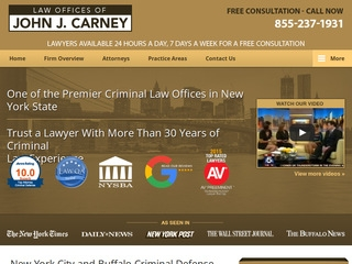 Law Offices of John J  Carney | Lawyer from Buffalo, New York