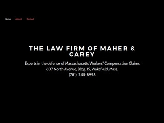 Maher & Carey   Lawyer from Wakefield, Massachusetts   Rating