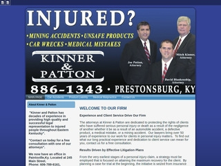 Kinner Patton Law Offices Lawyer From Paintsville Kentucky