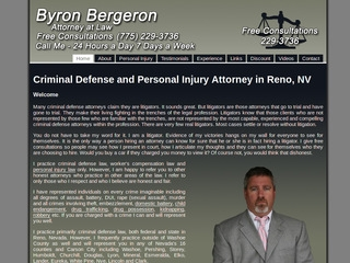 Bergeron Byron Attorney At Law Advokat fra Reno, Nevada  Lawyer from Reno, Nevada