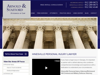 Arnold & Stafford | Lawyer from Hinesville, Georgia | Rating