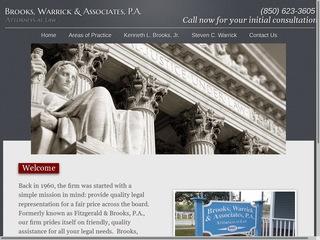 Brooks Jr, Kenneth L, JD | Lawyer from Milton, Florida | Rating