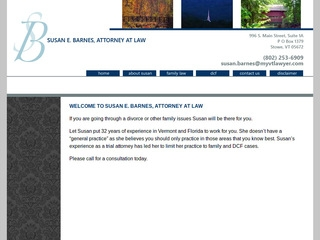 Susan E Barnes Law Offices | Lawyer from Stowe, Vermont | Rating