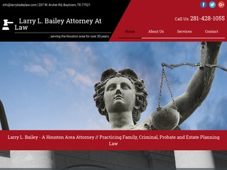 Larry L Bailey Attorney | Lawyer from Baytown, Texas