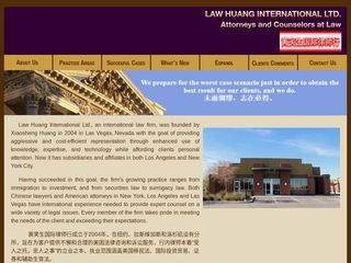 Huang Xiaosheng | Lawyer from Las Vegas, Nevada | Rating & reviews of  Attorneys & law firms